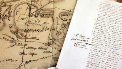 Un manuscrit unique sur la bataille d'Austerlitz dicté et annoté par Napoléon, mis en vente à Paris