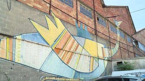 Ce parcours street art qui a métamorphosé l'ancienne cité minière de Bessèges dans le Gard