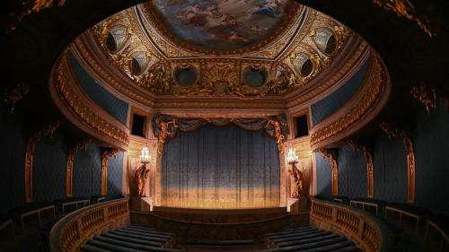 Au château de Versailles, le théâtre de Marie-Antoinette se refait une beauté