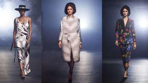 Paris Fashion Week : Georg Lux, directeur de la création de Leonard Paris, s'inspire