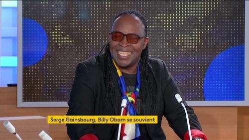 Billy Obam, ancien choriste de Serge Gainsbourg, se souvient des moments passés avec le chanteur