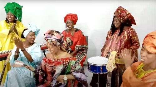 Au Sénégal, Jigeen Ni est le seul orchestre constitué à 100% de femmes