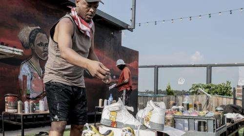 Afrique du Sud : les baskets au cœur de l'inventivité de la culture urbaine
