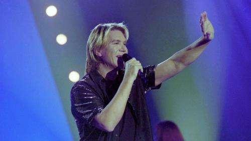 Le chanteur Patrick Juvet, connu pour son tube
