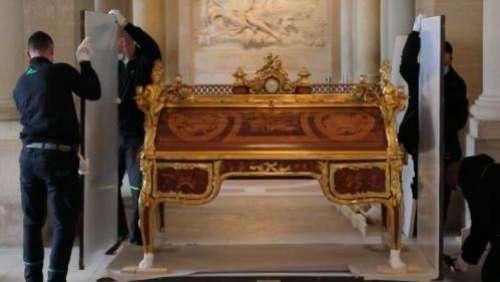 Château de Versailles : le mythique bureau de Louis XVI retrouve toute sa splendeur après deux ans de restauration