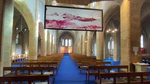 À Metz, l'église Saint-Maximin magnifiée par l'exposition