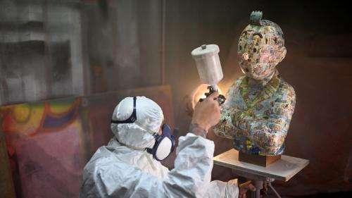 Marseille : un sculpteur et les héritiers d'Hergé s'affrontent sur