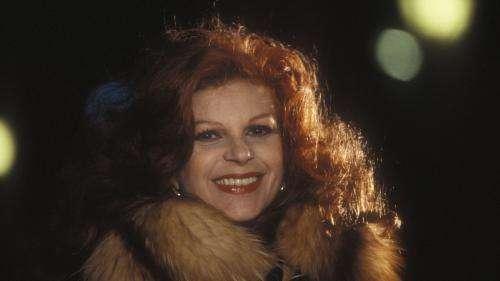 La chanteuse italienne Milva, surnommée