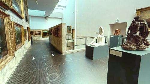 Le musée des Beaux-Arts et d'Archéologie de Besançon se visite désormais en ligne grâce...  à un agent immobilier