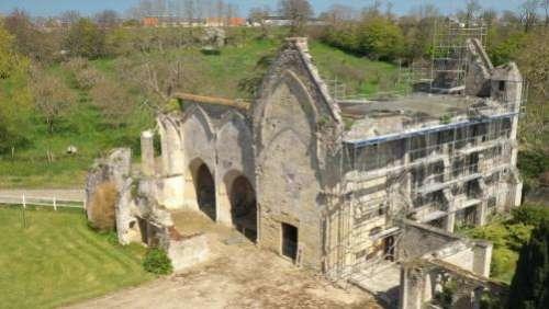Loto du Patrimoine : deux ans après sa sélection, l'Abbaye de Longues-sur-Mer dans le Calvados va être rénovée