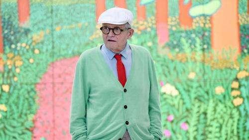 Brexit : installé en Normandie, le peintre britannique David Hockney a fait une demande de titre de séjour