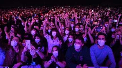 Concerts-tests à Montpellier :