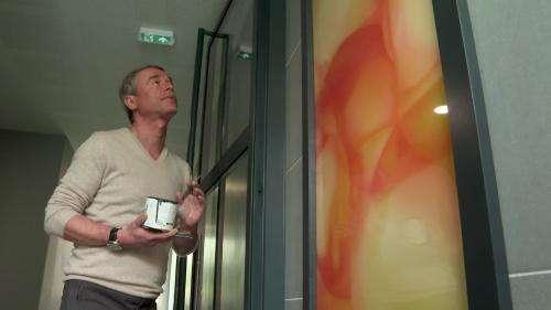 L'artiste Guillaume Bottazzi illumine les halls d'immeuble franciliens avec ses créations