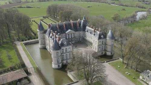 Patrimoine : l'Étatau secours duchâteau d'Haroué enMeurthe-et-Moselle
