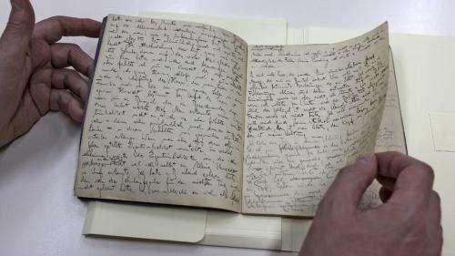 Une collection inédite de textes et de dessins de Franz Kafka accessibles en ligne