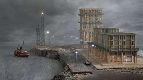 Le Havre rêvé de Philippe De Gobert, une vision en trompe-l'œil de la cité portuaire reconstruite après la guerre