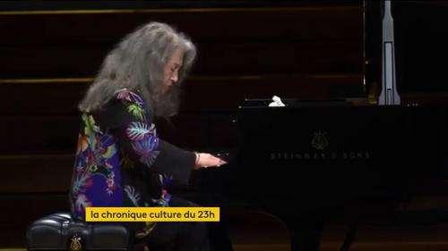 La pianiste Martha Argerich,