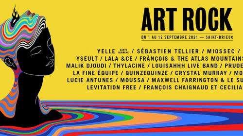 Le festival Art Rock se déroulera début septembre à Saint-Brieuc, en jauge pleine et en format assis