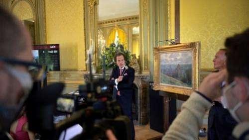 Une toile de Monet estimée un million d'euros ne trouve pas d'acquéreur lors d'une vente