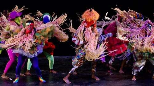 VIDEO. Revoir le spectacle de Qudus Onikeku qui a fait vibrer la Biennale de la danse aux rythmes du Nigeria