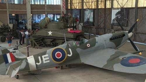 Près de Caen, le D-Day Wings Museum expose des avions de la Seconde Guerre mondiale