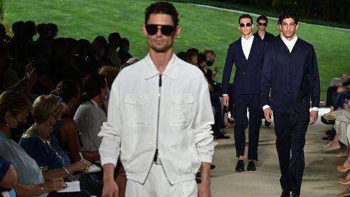 Milan Fashion Week : Giorgio Armani, entre retour aux sources et légèreté