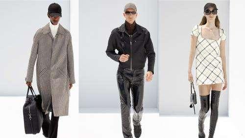 Paris Fashion Week printemps-été 2022 : Courrèges revient à la mode masculine avec une ligne acérée et romantique