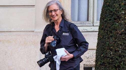 La photographe américaine Annie Leibovitz reçoit le prix William Klein de l'Académie des beaux-arts