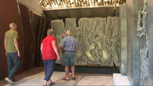 Une exposition célèbre Pierre Sabatier à Moulins, dans l'atelier de ce sculpteur de l'acier et du monumental