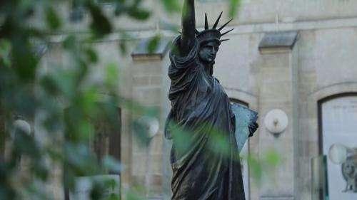 États-Unis : la petite sœur de la statue de la Liberté est arrivée à New York