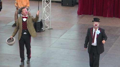 En Ardèche, le festival du cirque d'Alba-la-Romaine fait son grand retour dans la bonne humeur
