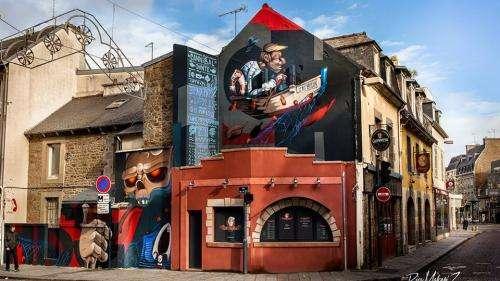 Dans les rues de Paris, une étrange chasse au trésor pour les amateurs de street art
