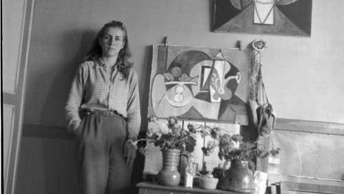 Françoise Gilot, artiste et compagne de Picasso pendant 10 ans, réhabilitée par le musée Estrine de Saint-Rémy-de-Provence