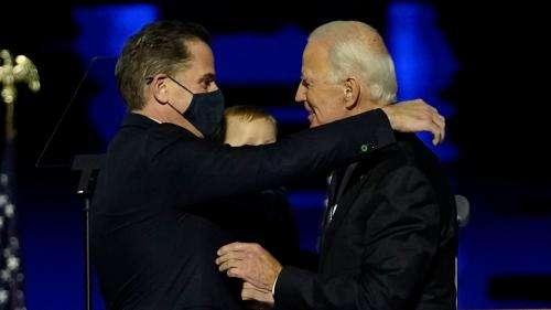 La carrière artistique du fils de Joe Biden embarrasse la Maison Blanche