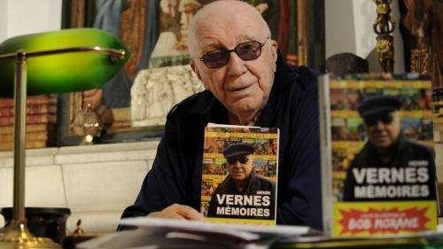 L'auteur de Bob Morane, Henri Vernes, est mort à 102 ans