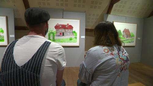 David Hockney, star de la peinture contemporaine, expose 50ans de travail en Normandie