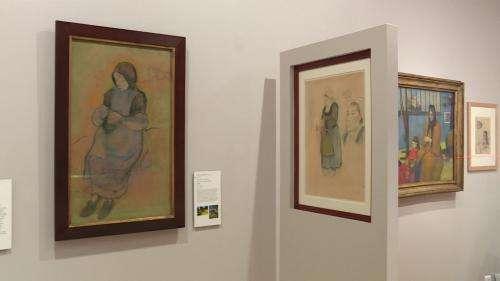 Au musée de Pont-Aven, des dessins rares de Gauguin prolongent l'œuvre peint du maître