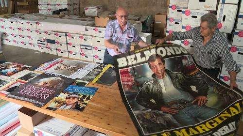 Jean-Paul Belmondo : dans le Doubs un collectionneur affiche sa passion pour l'acteur