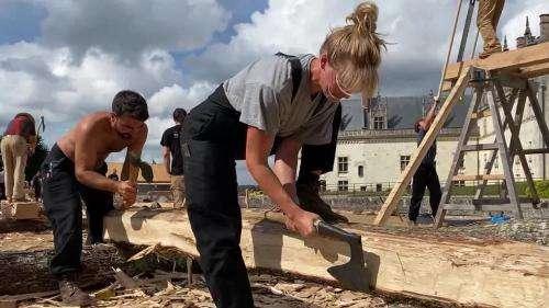 Journées européennes du patrimoine : à Amboise, la restauration participative de la chapelle Saint-Hubert