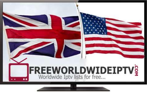 Uk and Usa free playlist m3u Iptv server 07/04/2019