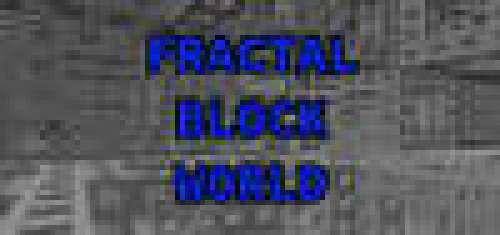 Fractal Block World