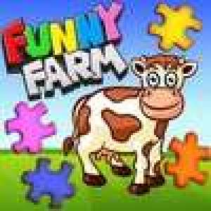 Funny Farm Animal Jigsaw Puzzle Game for Kids and Toddlers