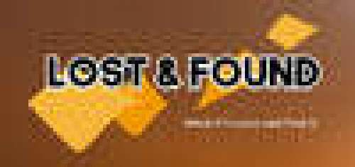 Lost and found - What if I come and find it