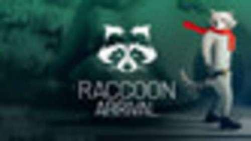 Raccoon Arrival