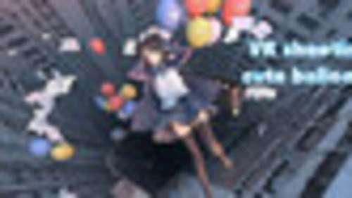 VR shooting cute balloons