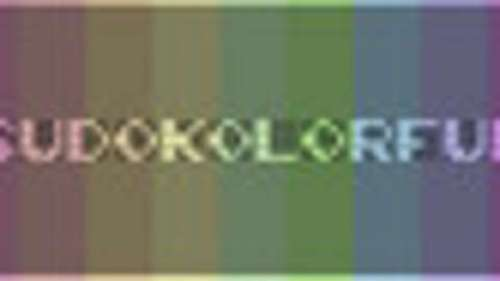 Sudokolorful