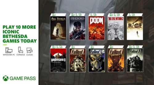Game Pass continue de marquer des points au Xbox & Bethesda Showcase
