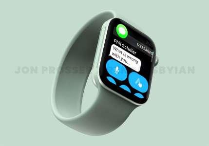 L'Apple Watch Series 7 change de taille