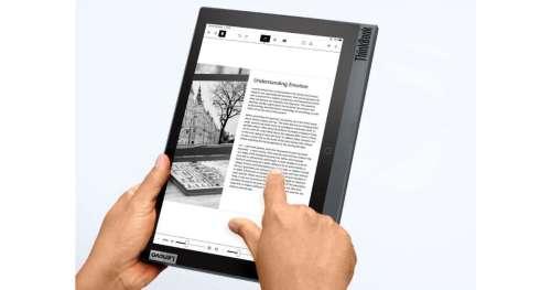 Lenovo ThinkBook Plus 2 – Un ordinateur avec un écran e-ink