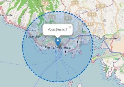 Covid-19 Confinement Martinique – Comment calculer 1 KM autour de chez vous ?